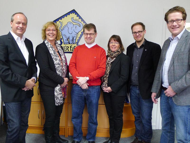 Foto: Löding, Danhier, Stegner, Zabel, von Pein, Habersaat
