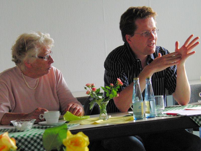 Foto: Marietta Exner und Martin Habersaat