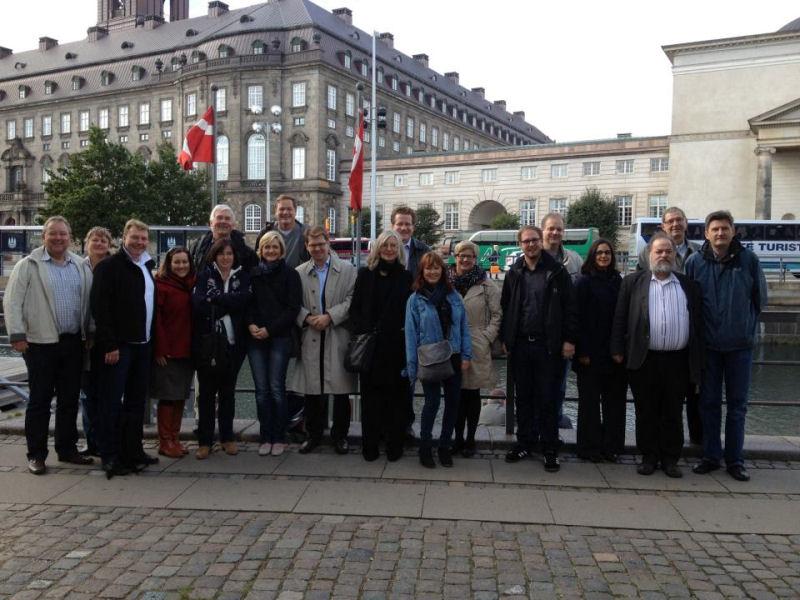 SPD-Fraktion in Kopenhagen