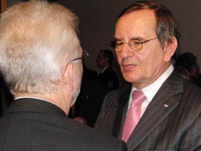 Foto: Klaus Plöger und Hermann Hanser