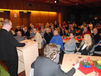 Foto: Frank Stendel begrüßt